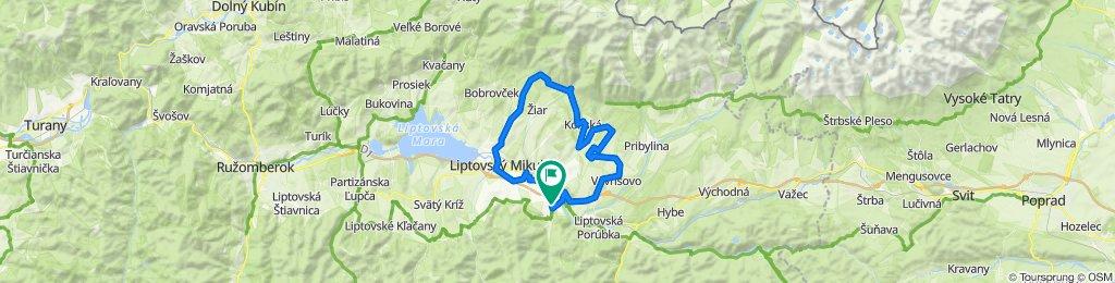 Trasa/Route 18   mtbliptov.bike