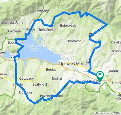 Trasa/Route 19 | mtbliptov.bike