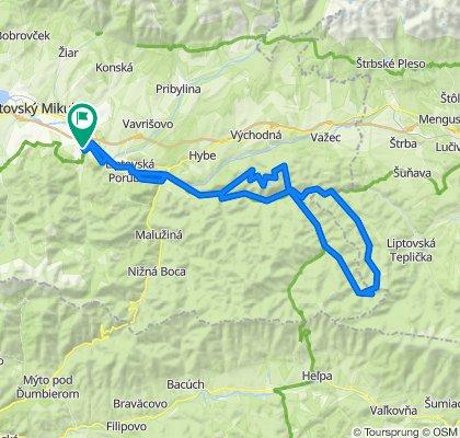 Trasa/Route 21 | mtbliptov.bike
