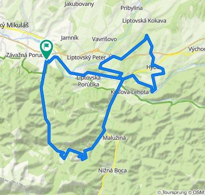 Trasa/Route 22 | mtbliptov.bike