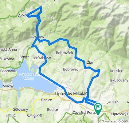 Trasa/Route 23 | mtbliptov.bike