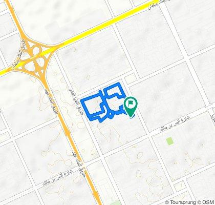 3658 شارع سليمان بن حسان, الرياض to 3677 شارع سليمان بن حسان, الرياض