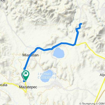 Ruta supersónica en Mazatepec