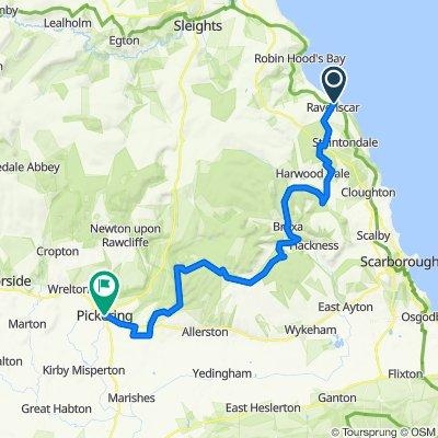 Moor To Sea Route:  Part 4 Ravenscar - Pickering