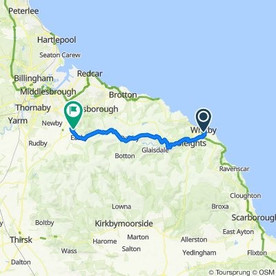 Moor To Sea Route:  Part 5 Whitby - Great Ayton