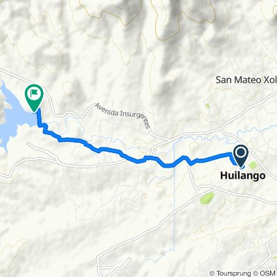 De 4 de Febrero 15, Huilango a Unnamed Road