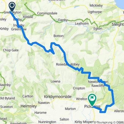 Moor To Sea Route:  Part 6 Great Ayton - Pickering