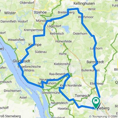 Pi-Kellinghusen-Glückstadt-Krückau Teil 82 Kmm