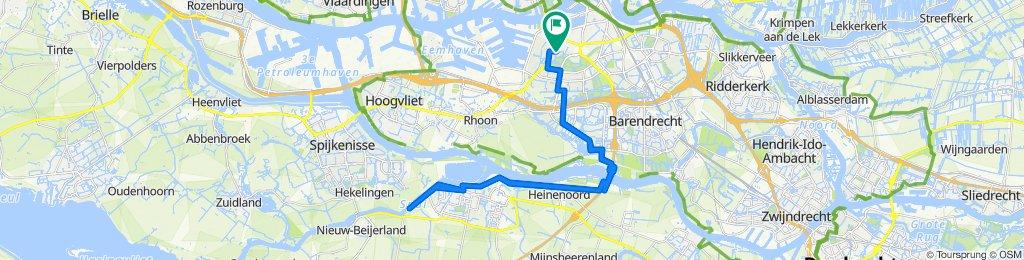 Lepelaarsingel 122C, Rotterdam do Lepelaarsingel 122B, Rotterdam