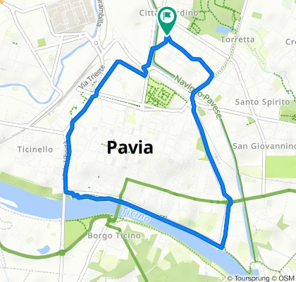 Giro Pavia