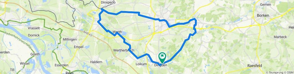 Dingden-Isselburg-Bocholt Rundkurs2