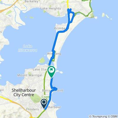 Restful route in Flinders