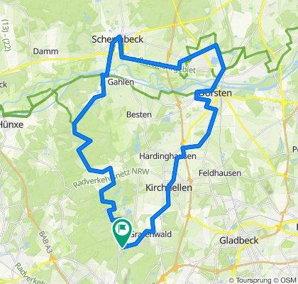 Rundkurs Schwarze Heide-Schermbeck 4