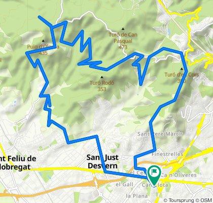 Esplugues - Vall de Sant Feliu 09/05/20
