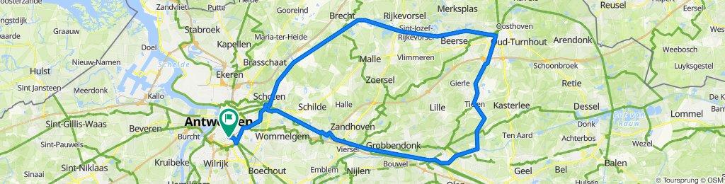 A'pen > Turnhout > Herentals > A'pen