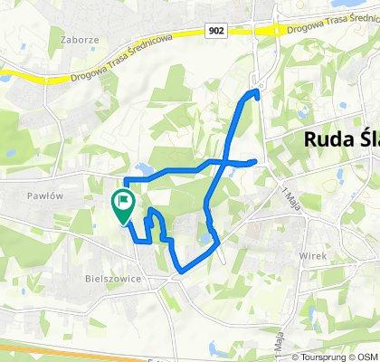 Łatwa trasa w Ruda Śląska