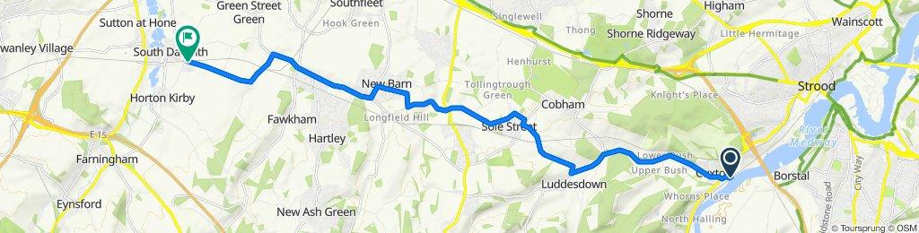 28–30 Station Road, Rochester to Rabbits Road, Dartford