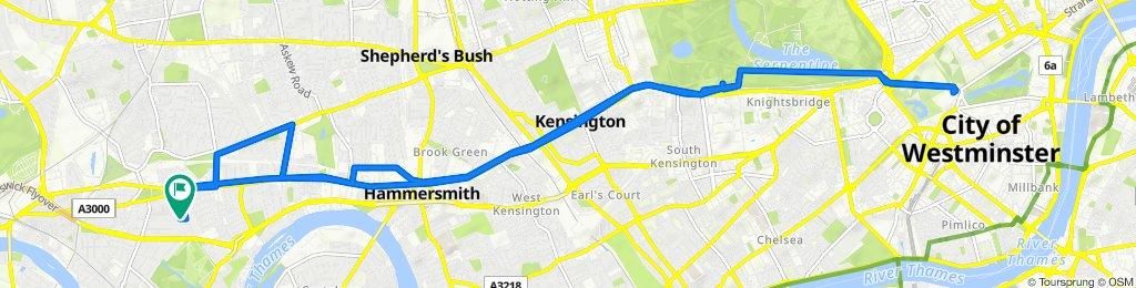 89 Wavendon Avenue, London to 96 Wavendon Avenue, London
