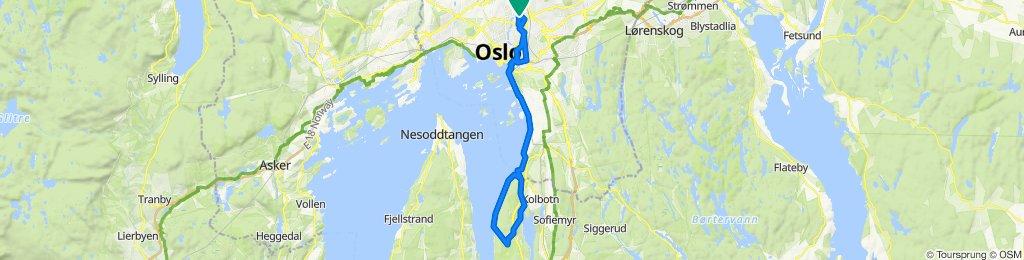 Gjersjørunden 43 km