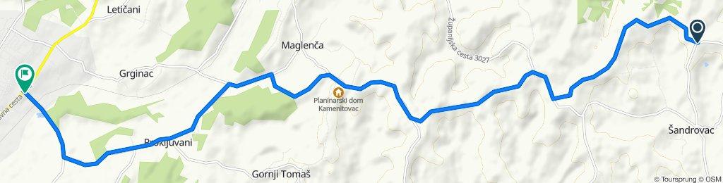 Blistering ride in Trojstveni Markovac