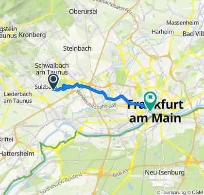 Easy ride in Frankfurt am Main