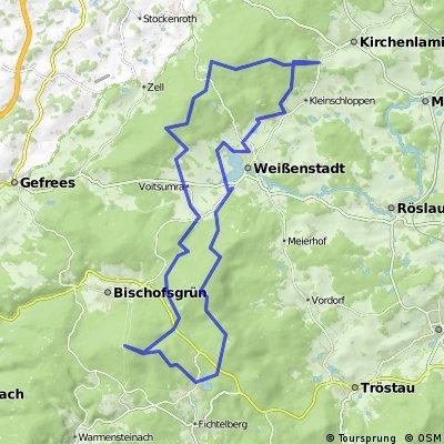 Schneeberg-Ochsenkopf-Waldstein