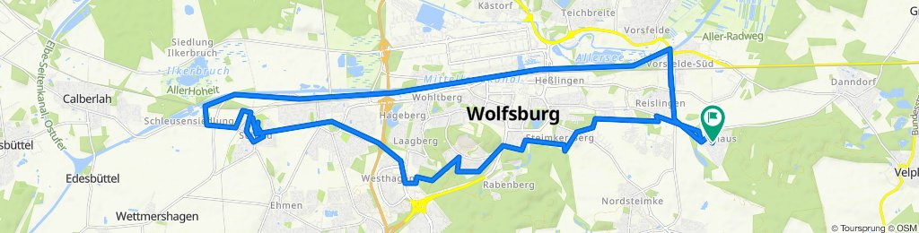 Moderate Route in Wolfsburg