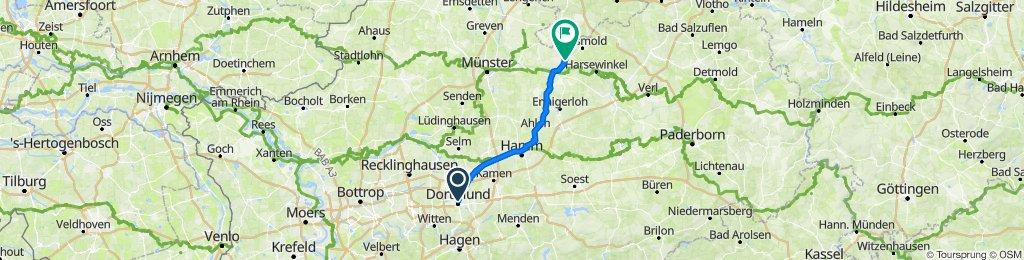Burgwall 4, Dortmund nach Löcknitzer Straße 5, Sassenberg