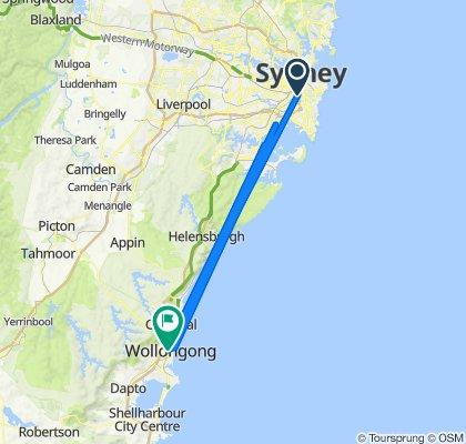 Sydney Road Cycling