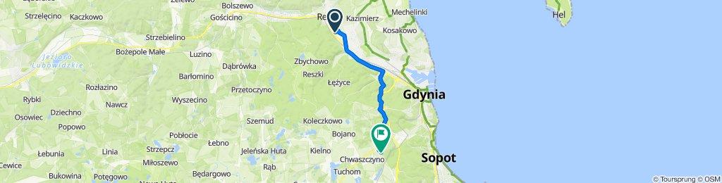 Umiarkowana trasa w Gdynia
