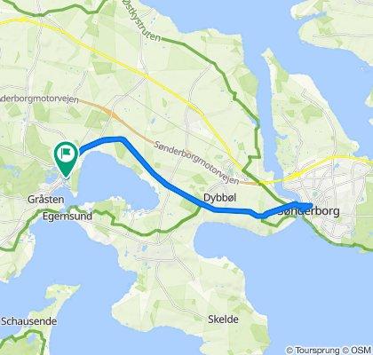Sønderborg tur/retur 9/5-2020
