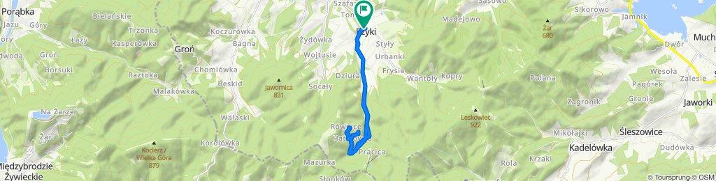 Łatwa trasa w Andrychów