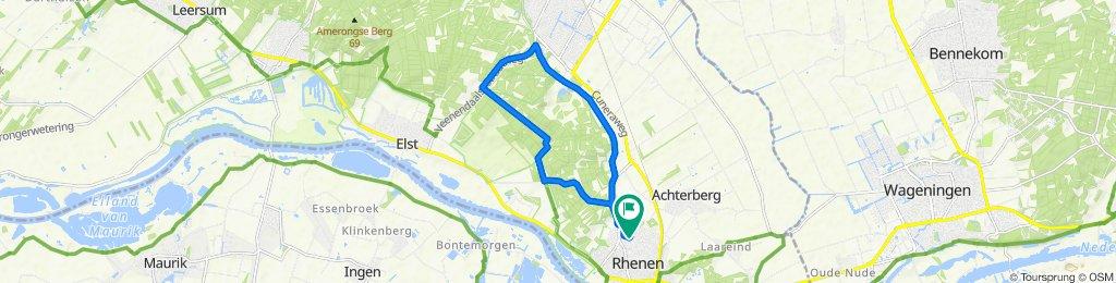 Domineesbergweg 48, Rhenen naar Rhenen, Anemoonstraat
