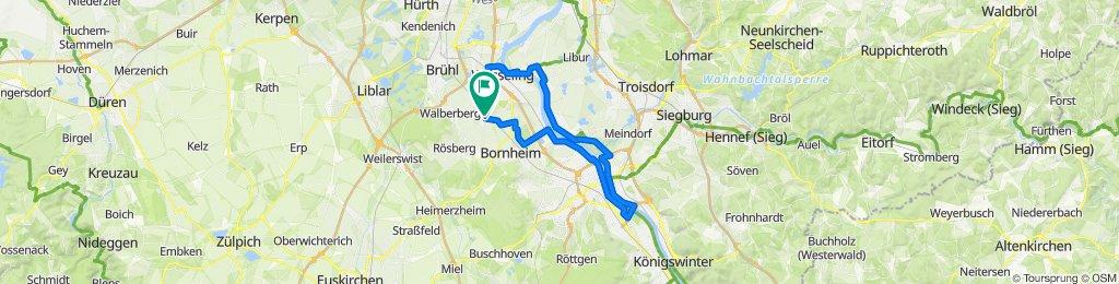 Sechtem-Rheinaue-Niederkassel-Sechtem