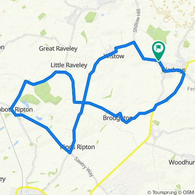 Relaxed route in Huntingdon 2