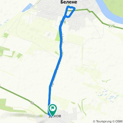 Restful route in Dekov