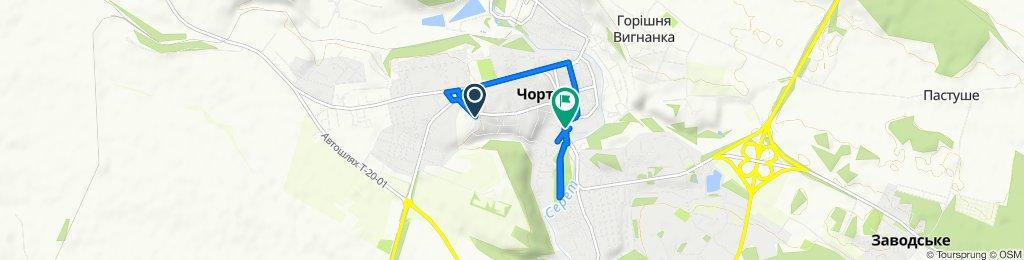 Slow ride in Chortkiv