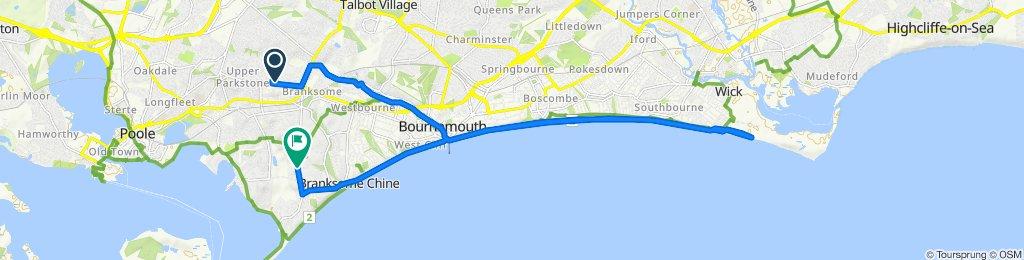 Zrelaksowana trasa w Poole