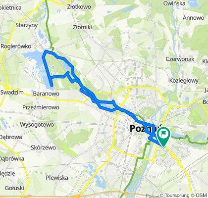 osiedle Oświecenia 26, Poznań do Dolska 21, Poznań