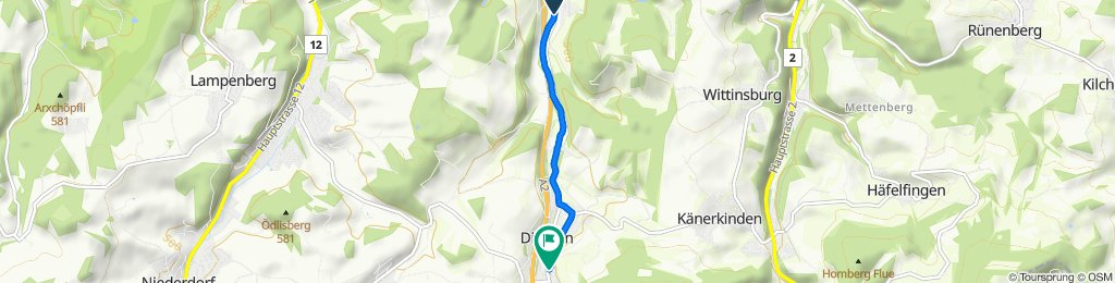 Entspannende Route in Diegten