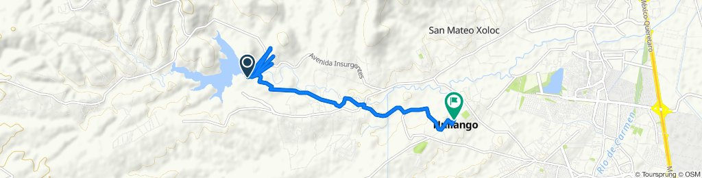 De Unnamed Road, Santiago Cuautlalpan a 4 de Febrero 15, Huilango