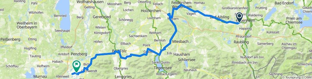 Rosenheim - Benediktbeuern