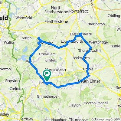 22 Spa Well Grove, Barnsley to 15 Spa Well Grove, Barnsley