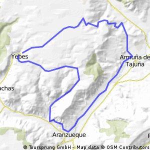 Yebes-Horche-Armuña-Aranzueke-Yebes