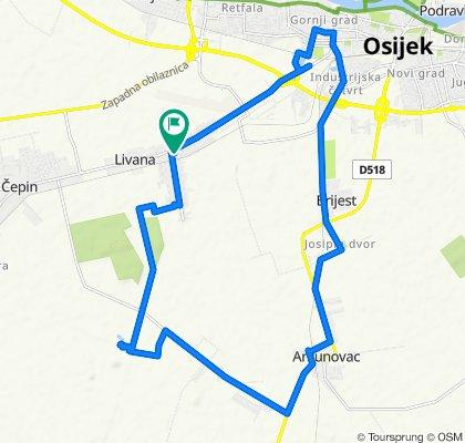 Smreka ulica 2, Osijek to Smreka ulica 4, Osijek