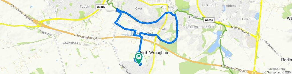 Wroughton to Lawn via Wichelstowe