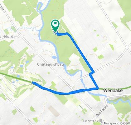 Route stable en Québec
