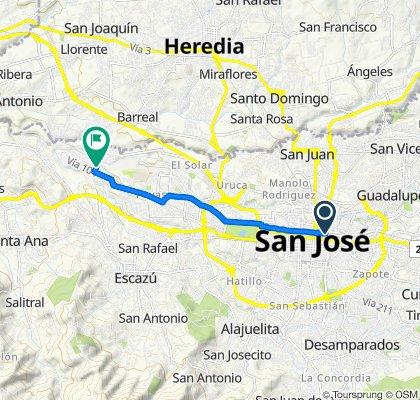 De San José a Calle 164, San José Casa de hogar