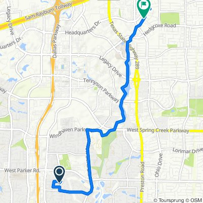 Steady ride in Plano