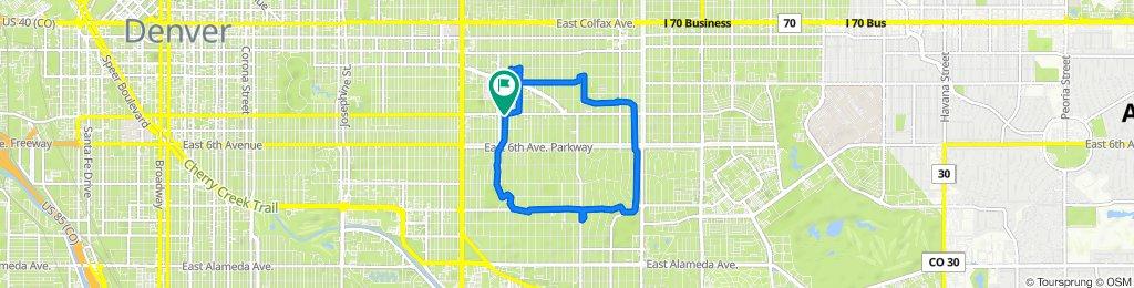 3 parks route